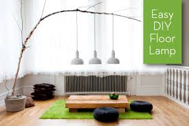 Home Decor Floor Lamps Inspiration Turn A Branch Into A Floor Lamp Curbly