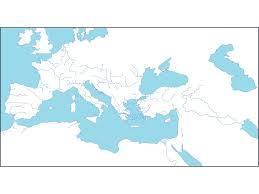 Rome On World Map Map Of Roman Empire History Social Studies World History
