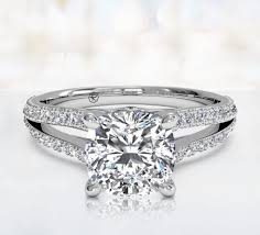 cushion cut engagement ring buy cushion cut engagement rings ritani