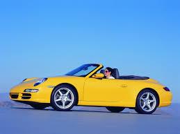 Porsche 911 Yellow - 2005 porsche 911 carrera cabriolet yellow side 1920x1440