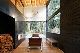 courtyard home courtyard house on a river residential architect robert