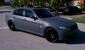 matte grey bmw dipped whole car matter grey