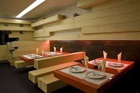 architecture modern minimalist restaurant design wooden style