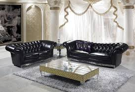 Living Room Sets For Cheap by Online Get Cheap Chesterfield Sofa Leather Aliexpress Com