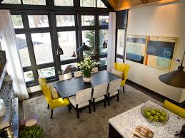 inside of dream houses dining room