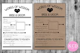 my advice for the and groom cards advice for the and groom card 10 wedding madlibs advice