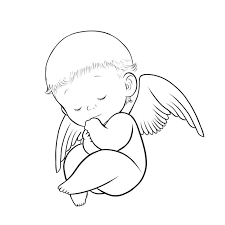 halo clipart baby wing pencil and in color halo clipart baby