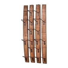wine rack iron cast houzz