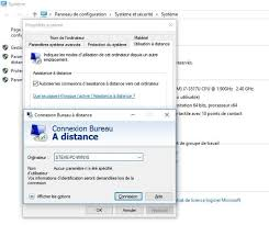 connexion bureau distance sans mot de passe comment prendre le contrôle d un autre ordinateur à distance