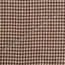 Wool Drapery Fabric Gentlemen Houndstooth Check Curtain Drapery Panels
