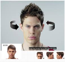 hair cuts 360 view mens hairstyles 360 view 21 best transformation images on pinterest