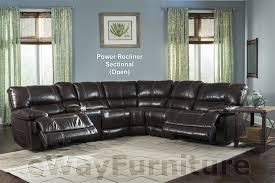 parker living socrates power recliner sectional in mink