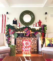 beautiful colorful christmas blogger home tour 2015