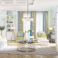 Colorful Patterned Curtains Patterned Print Color Block Poly Cotton Blend Country Curtains