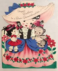 1072 best vintage children u0027s birthday cards images on pinterest