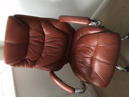 brown leather executive desk chair leather office sofa montserrat home design ask when buying a