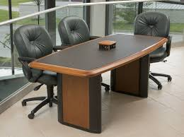 Small Boardroom Table Power And Data Connected Conference Table For Six Caretta Workspace