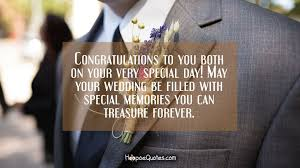 wedding quotes may your congratulations to you both on your special day may your