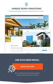 dreamvilla real estate wordpress theme by fortunecreations
