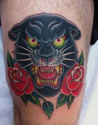 traditional black leopard search tattoos i