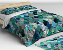 Little Mermaid Comforter Mermaid Bedding Etsy