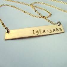 baby name necklace gold new necklace gold bar necklace baby name necklace