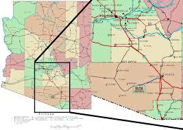 Map Of Tucson I Kitt Peak National Observatory U2013 Emilyberkson