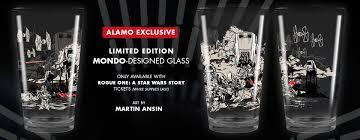 alamo drafthouse rogue one glasses borg