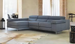 assise canape canapé d angle en tissu avec dossier électrique réglable