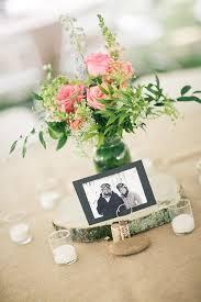 Wedding Centerpieces Using Mason Jars by Birch Tree Slices For Your Wedding Centerpiece Tree Slices