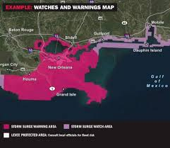 Weather Map New Orleans by National Weather Service Creating Maps This Year To Show How