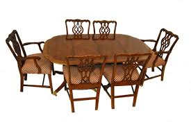 9 piece dining room set by baker furniture historic charleston
