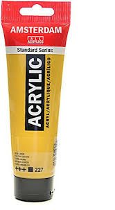 amazon com amsterdam standard series acrylic paint yellow ochre
