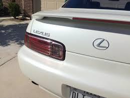 lexus sc300 gold emblems show your rear