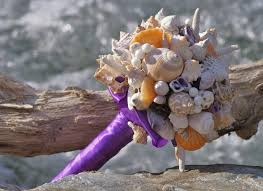 Seashell Bouquet Wedding Ideas Seashell 3 Weddbook