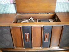 Rca Victrola Record Player Cabinet Rca Console Radio Phonograph Tv Phone Ebay