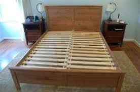 bed frame building a queen bed frame home designs ideas