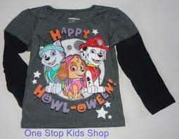 Halloween Shirt by Paw Patrol Girls Or Boys 2t 3t 4t 5t Halloween Shirt Tee Top Nick
