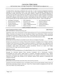 Police Resume Examples by Special Agent Sample Resume Persuasive Career Change Cover Letter