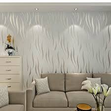 papier peint de bureau hanmero papier peint moderne intissé motif avec rayures 3d flocage