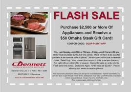 omaha steaks gift card flash sale purchase 2 500 of appliances and get a 50 omaha
