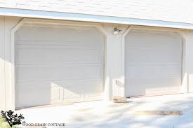 garage doors garage doors how to paint door video same as house