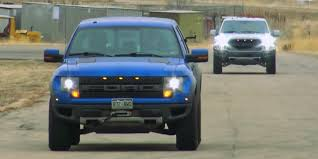 Ford Raptor Truck 2017 - watch 2014 vs 2017 ford f 150 raptor ford authority