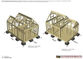 home garden plans dh300 insulated dog house plans construction