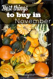 best things to buy in november november frugal and saving money