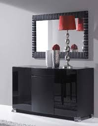 Small Black Gloss Sideboard Black High Gloss Shoe Closet Sideboard With Silver Feet