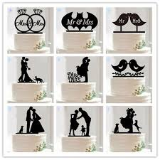 buy wedding cake aliexpress buy 10 style optional acrylic wedding cake topper