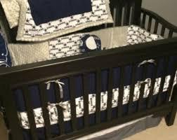 sports crib bedding etsy