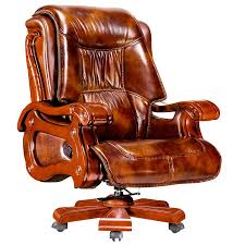brown leather executive office chair modern chairs quality