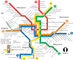 Metro Yellow Line Map by File Wmata System Map Svg Wikimedia Commons